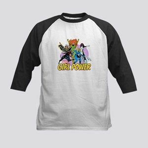Marvel Girl Power Kids Baseball Jersey